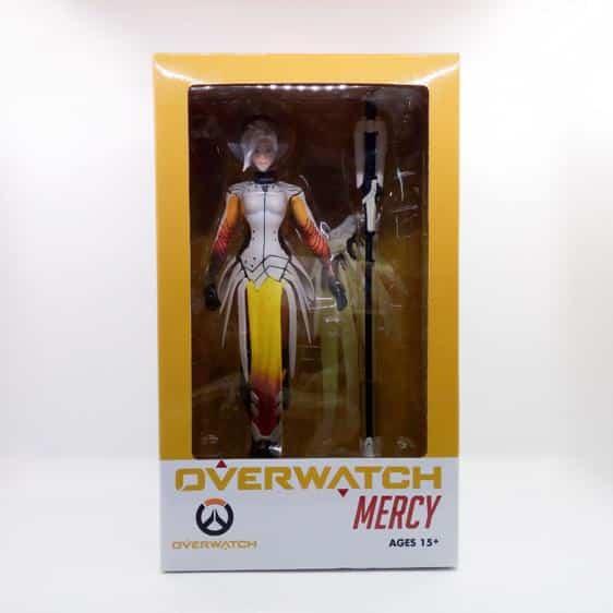 Overwatch Mercy Healing Support Hero Statue Toy Figure