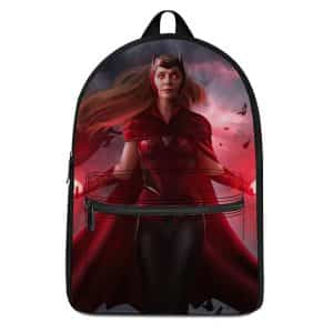Powerful Wanda Maximoff Scarlet Witch Design Backpack Bag