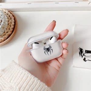 Spider-Man Black Spider Logo AirPods & AirPods Pro Case