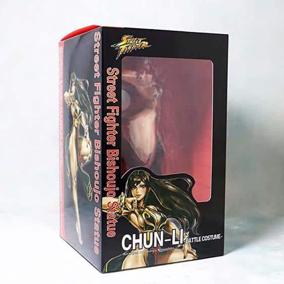 Street Fighter Expert Martial Artist Chun-Li Statue Figure