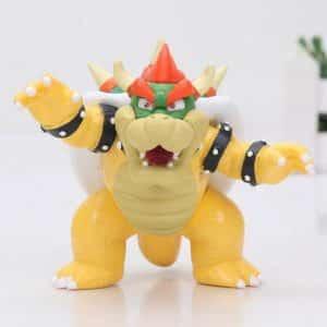 Super Mario Antagonist King Bowser Statue Model Figure