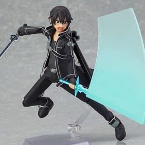 Sword Art Online Kirigaya Kazuto Kirito Action Figure