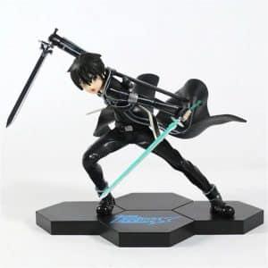 Sword Art Online Kirito Fighting Climax Static Model Toy