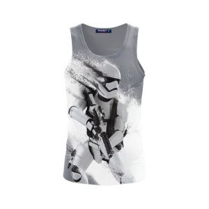 Star Wars Combat Ready Storm Trooper Stunning Tank Top