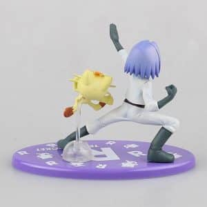 Team Rocket James and Meowth Pokemon Static Toy Figure