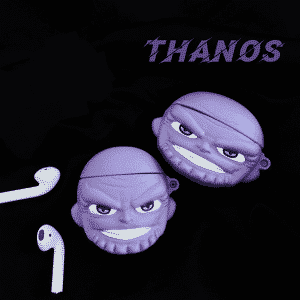 Titan Genocidal Warlord Thanos Purple AirPods Cover