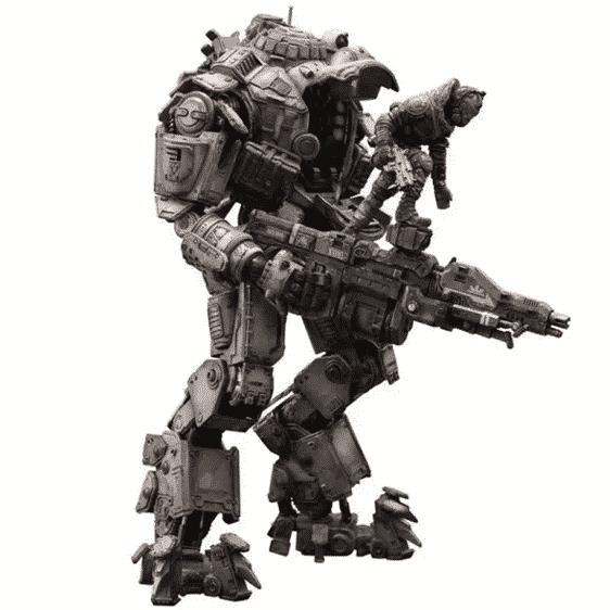 Titanfall Atlas Titan with Pilot Action Model Figure