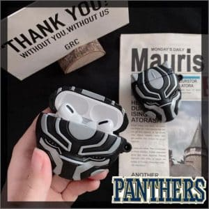 Wakanda Protector Black Panther Mask AirPods Pro Cover