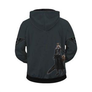 Warhammer 40k Awesome Rogue Trader Zip Up Hoodie
