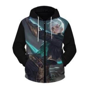 Mobile Legends Bang Bang Gusion And Heroes Zip Up Jacket