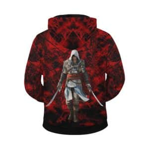 Assassin's Creed Black Flag Edward Kenway Zip Up Hoodie