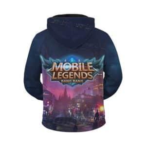 Mobile Legends Lesley Stellaris Ghost City Lights Zip Up Hoodie