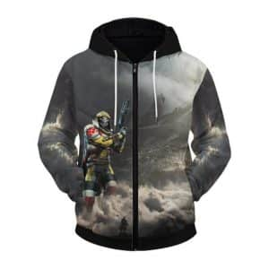 Destiny 2 Guardian In Horizon Awesome Zip Up Hoodie Jacket