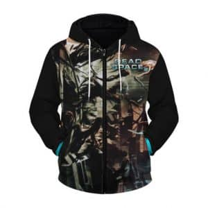 Dead Space 2 Awesome Isaac Clarke Art Zip Up Hoodie