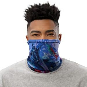 Devil May Cry 5 Nero With Red Queen Cool Neck Gaiter