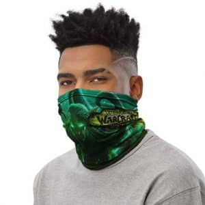 Warcraft The Vengeful Illidan Stormrage Green Aura Tube Mask