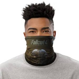 Dope Fallout 4 Game Cover Artwork Sole Survivor Tube Mask