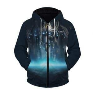 StarCraft 2 Artanis Templar Artwork Cool Zip Up Hoodie